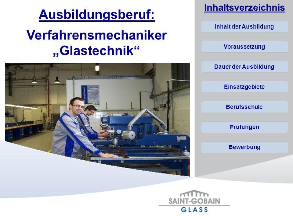 "Verfahrensmechaniker ""Glastechnik"