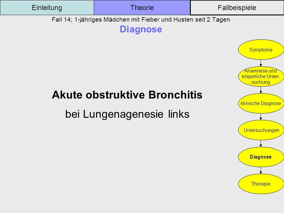 Akute obstruktive Bronchitis