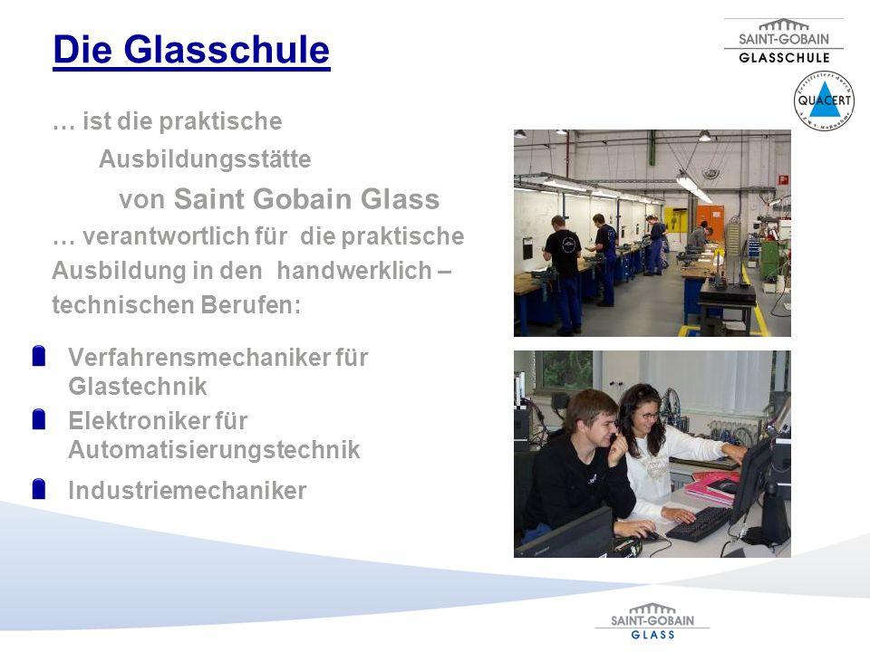 Die Glasschule von Saint Gobain Glass … ist die praktische