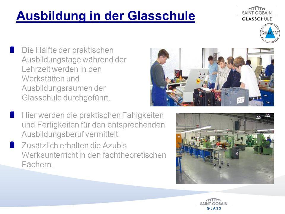 Ausbildung in der Glasschule