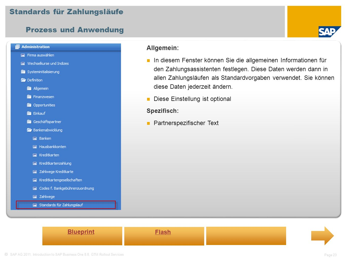 Standards für Zahlungsläufe Prozess und Anwendung