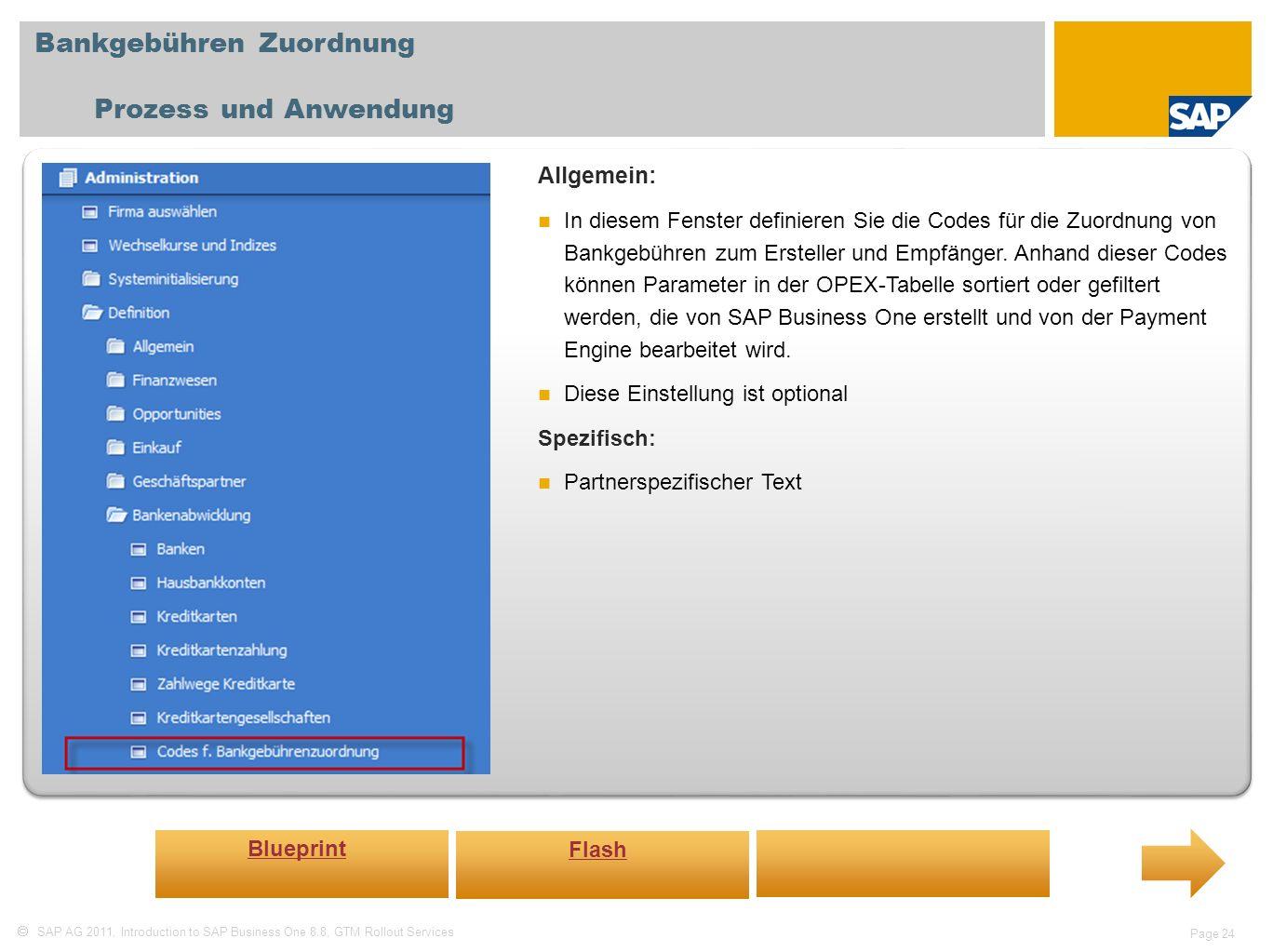 Bankgebühren Zuordnung Prozess und Anwendung