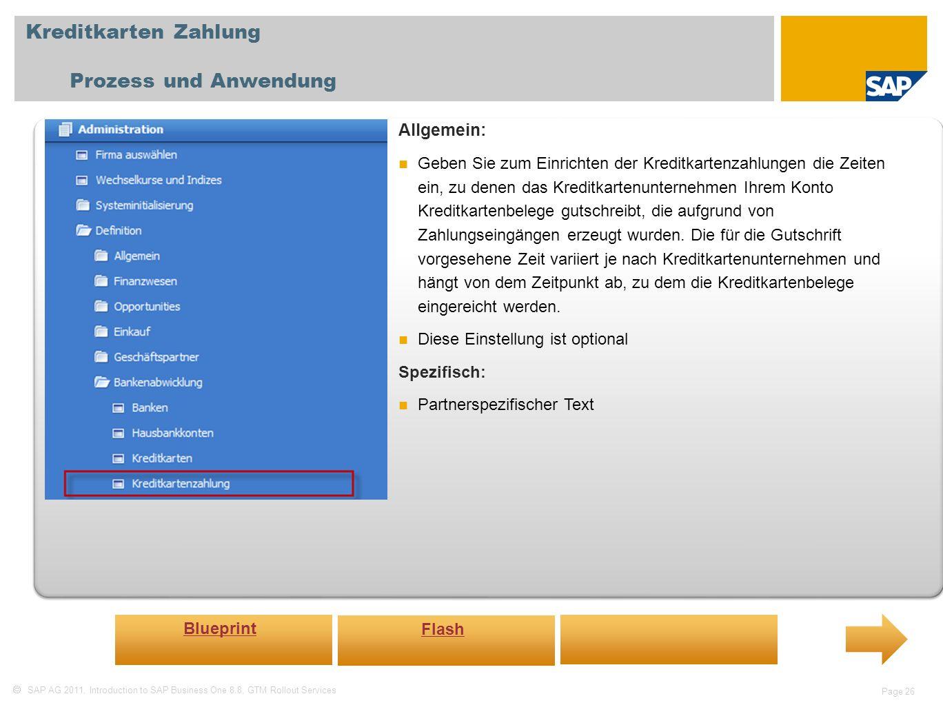 Kreditkarten Zahlung Prozess und Anwendung Allgemein: