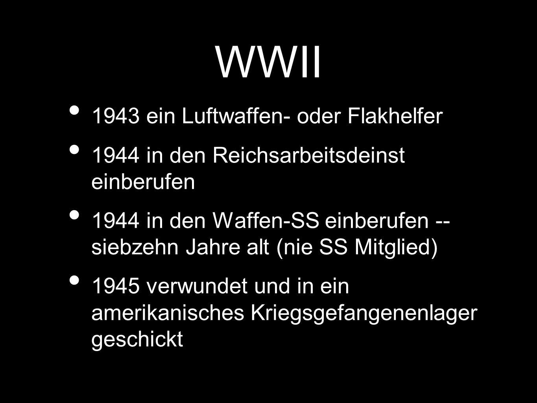 WWII 1943 ein Luftwaffen- oder Flakhelfer