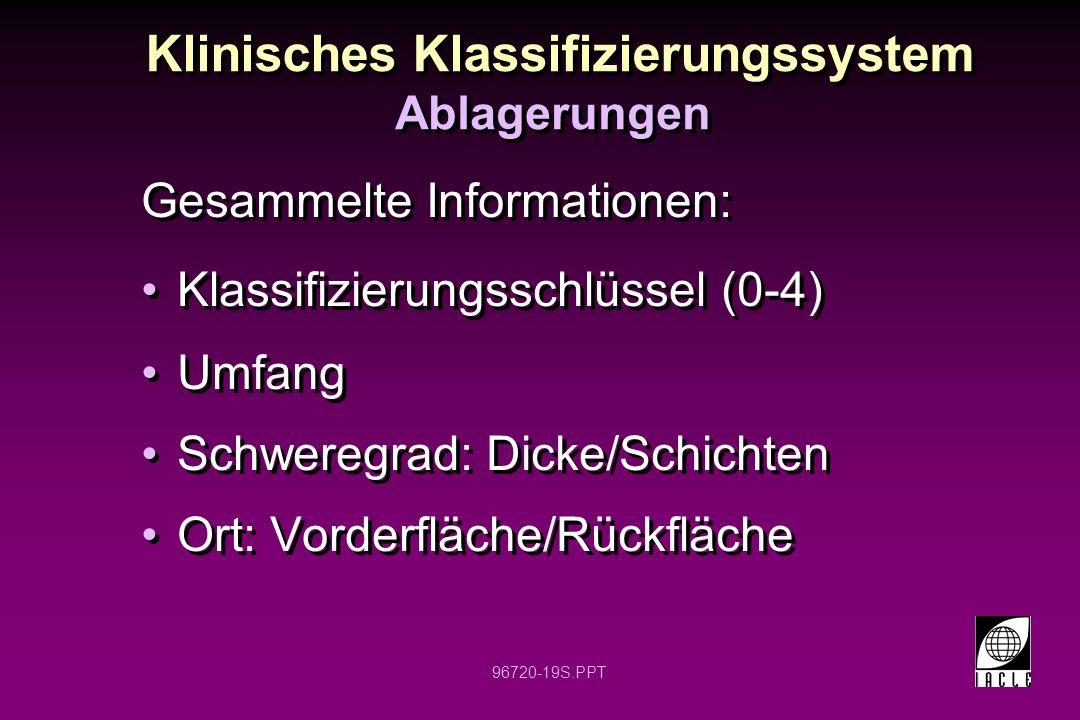 Klinisches Klassifizierungssystem