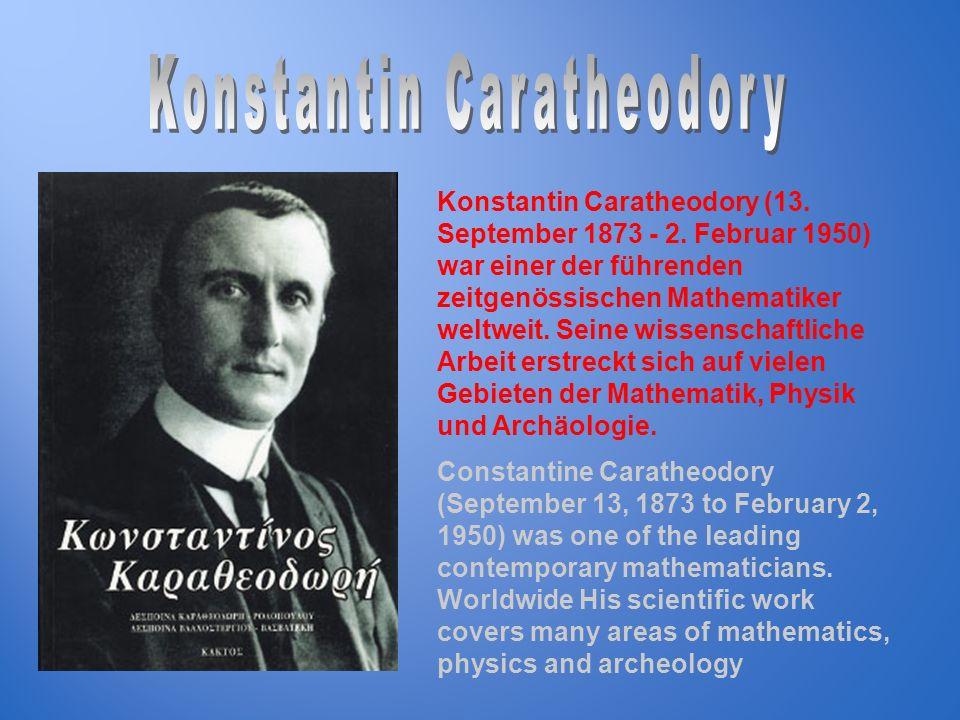 Konstantin Caratheodory
