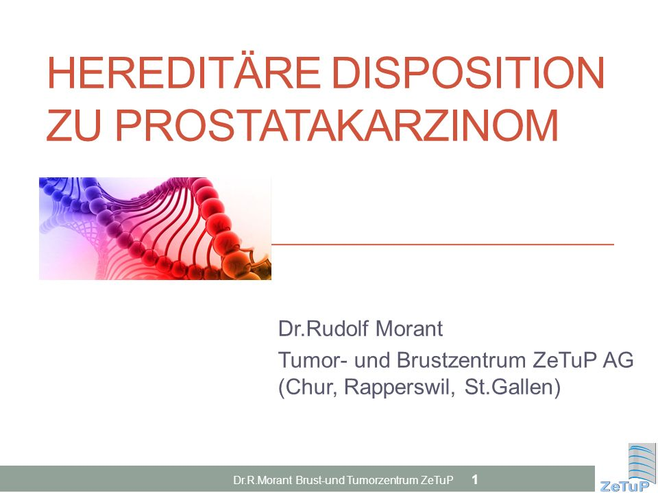 Hereditäre Disposition zu Prostatakarzinom