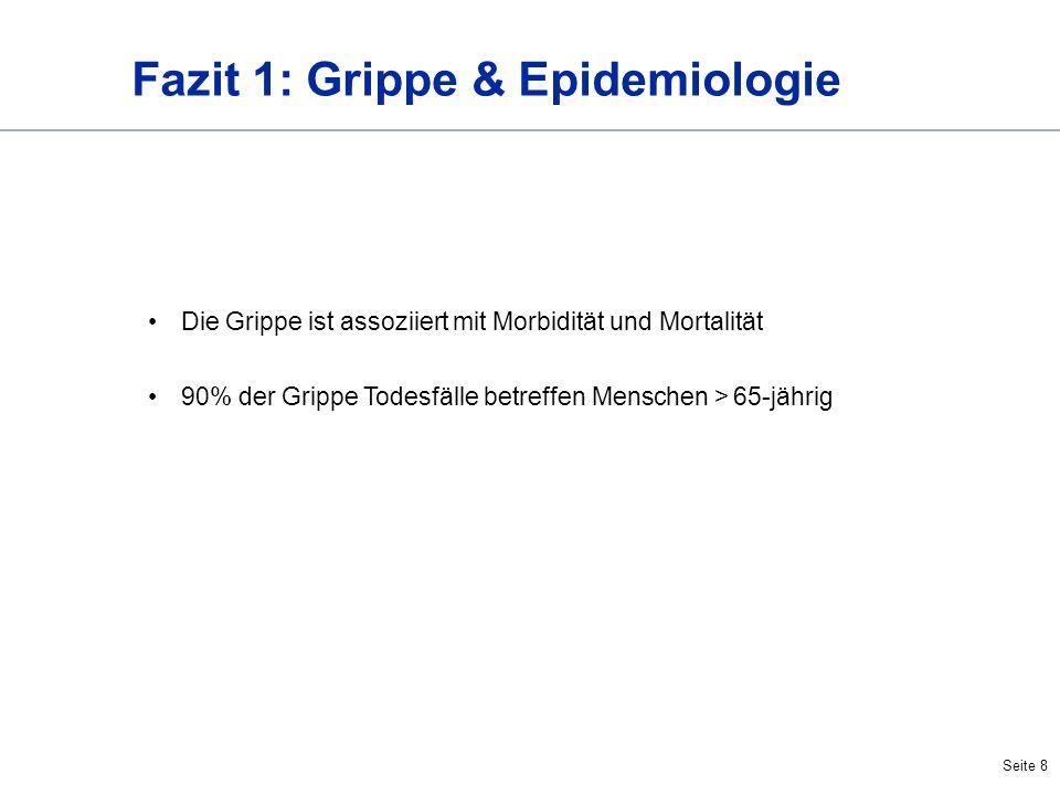 Fazit 1: Grippe & Epidemiologie