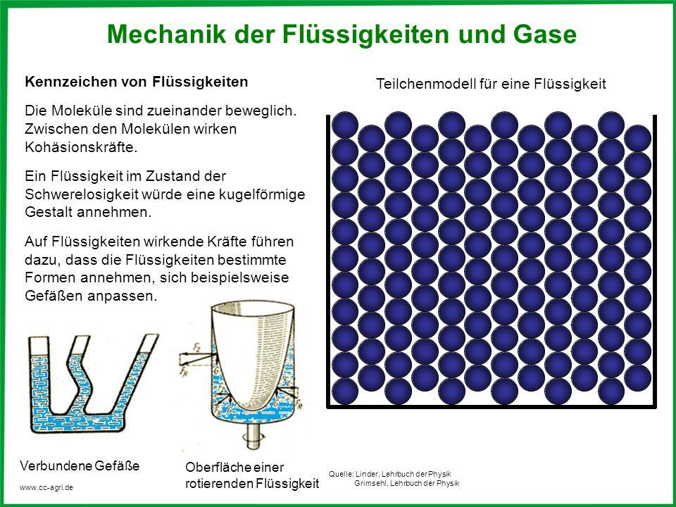 Mechanik der Flüssigkeiten und Gase