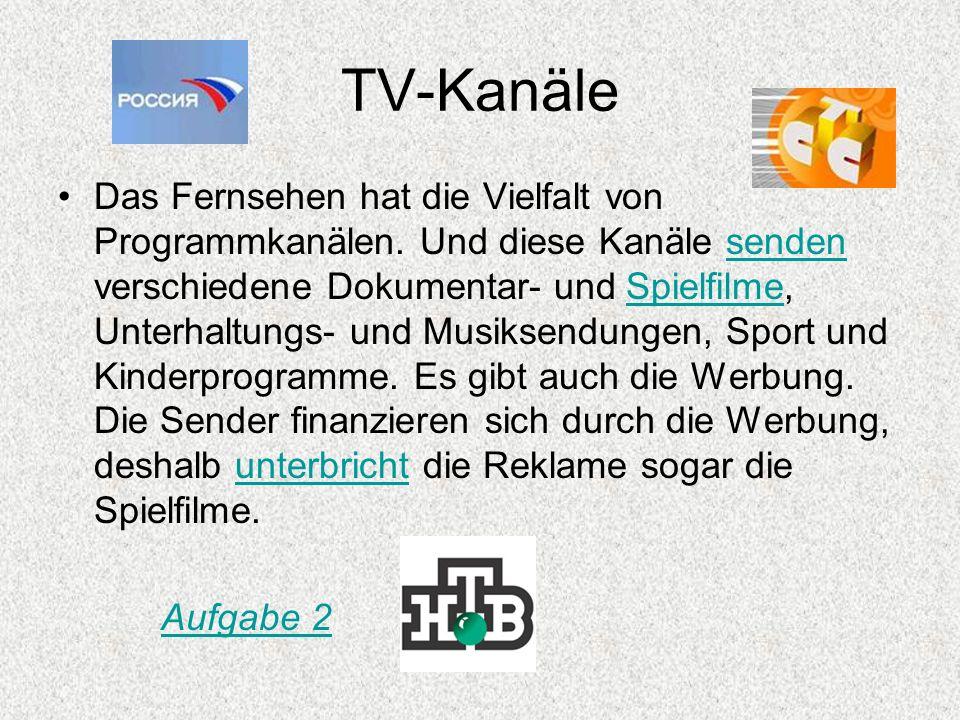 TV-Kanäle