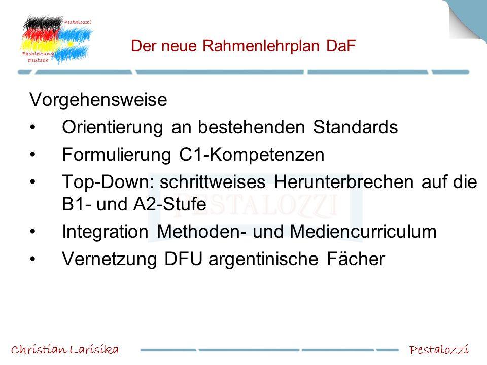 Der neue Rahmenlehrplan DaF