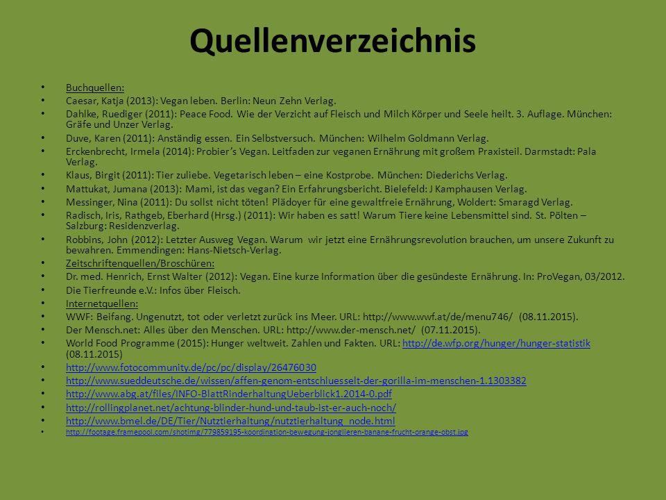 Quellenverzeichnis Buchquellen:
