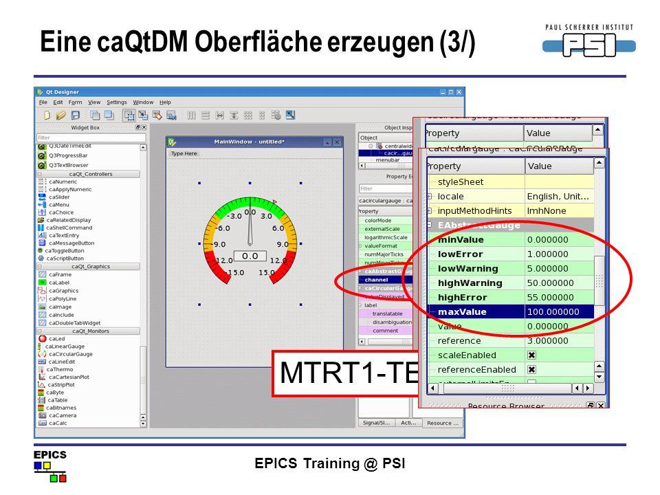 Eine caQtDM Oberfläche erzeugen (3/)