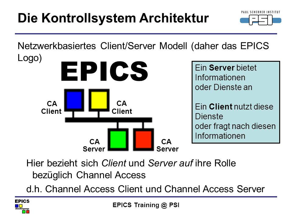 Die Kontrollsystem Architektur