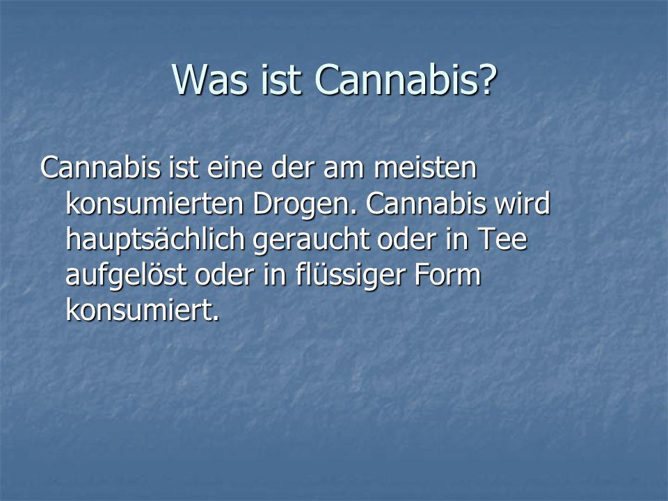Was ist Cannabis