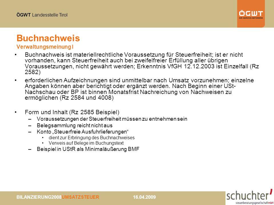 Buchnachweis Verwaltungsmeinung I