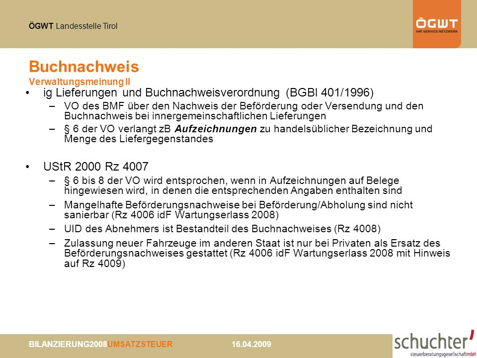 Buchnachweis Verwaltungsmeinung II