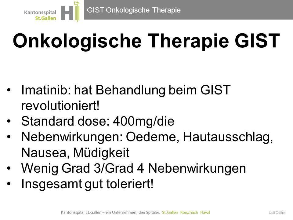Onkologische Therapie GIST