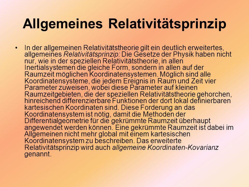 Allgemeines Relativitätsprinzip