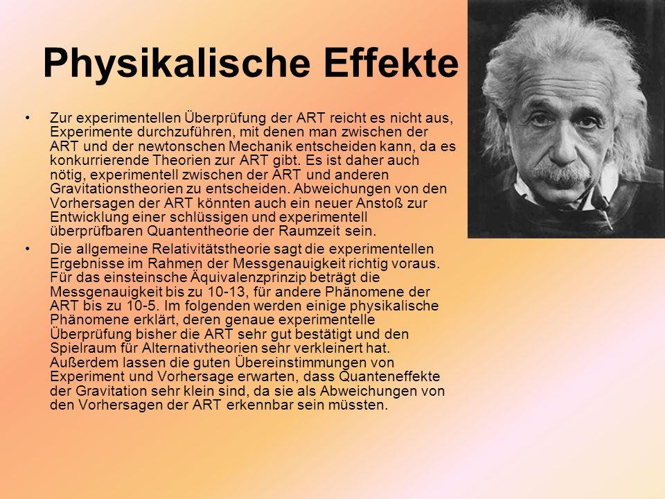 Physikalische Effekte