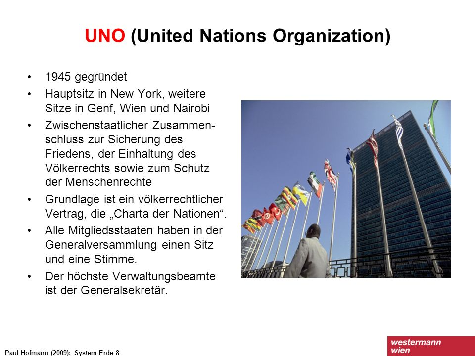 UNO (United Nations Organization)