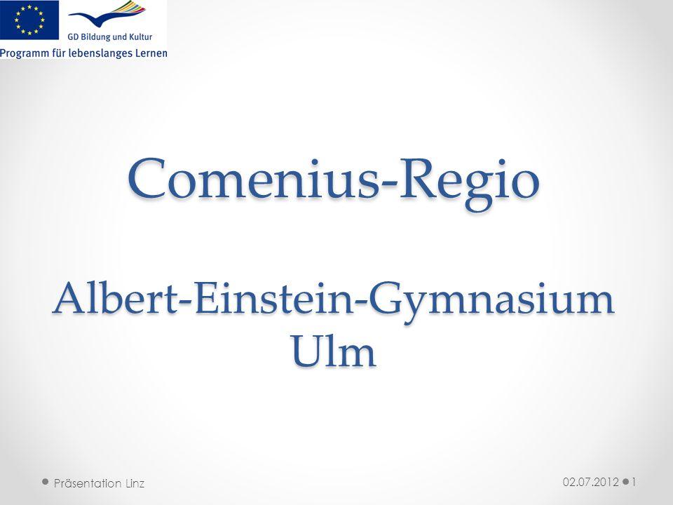 Comenius-Regio Albert-Einstein-Gymnasium Ulm