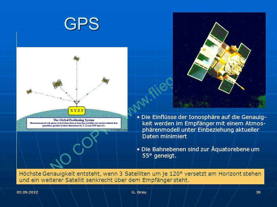 GPS Die Einflüsse der Ionosphäre auf die Genauig-