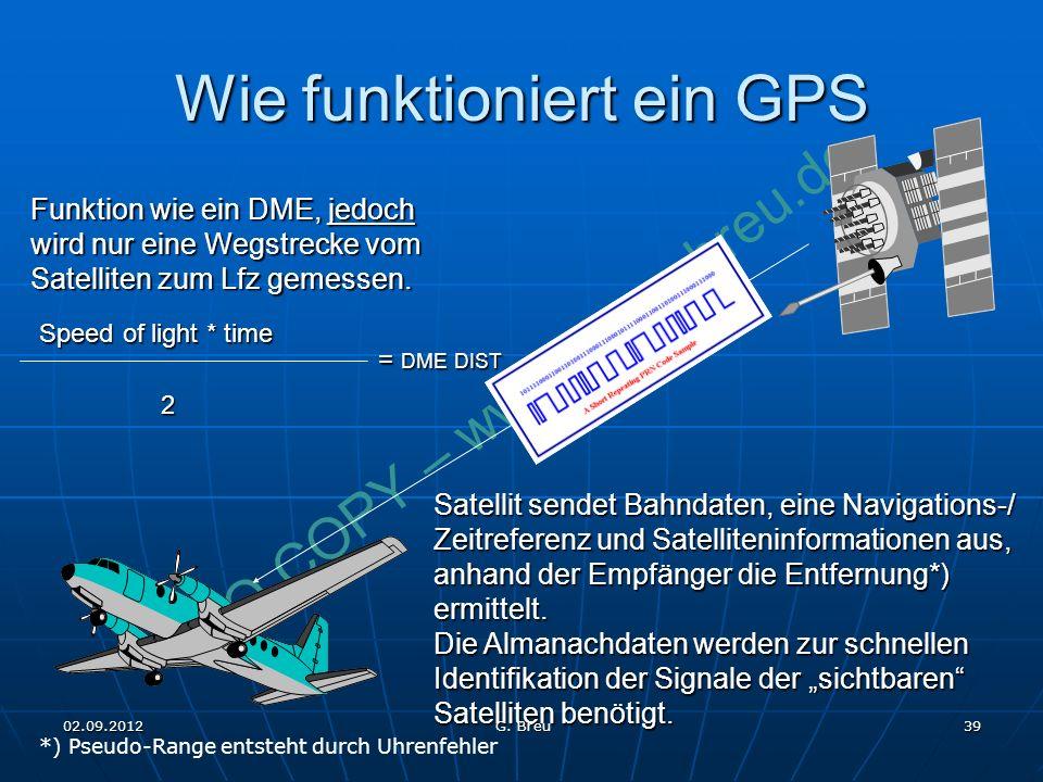 Wie funktioniert ein GPS