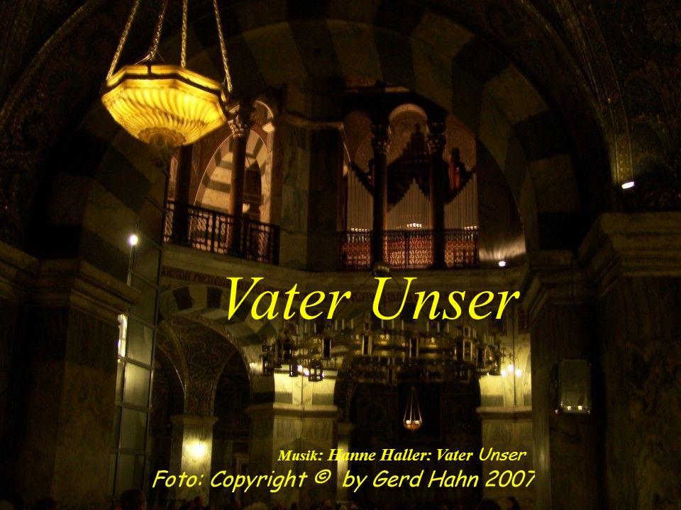 Vater Unser Musik: Hanne Haller: Vater Unser