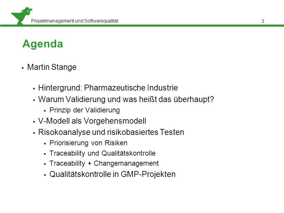 Agenda Martin Stange Hintergrund: Pharmazeutische Industrie