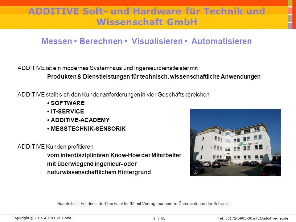 ADDITIVE Soft- und Hardware für Technik und Wissenschaft GmbH