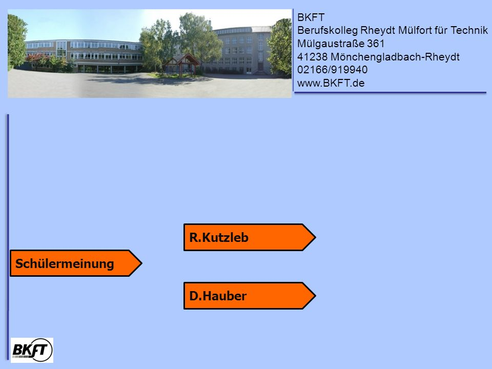 R.Kutzleb Schülermeinung D.Hauber