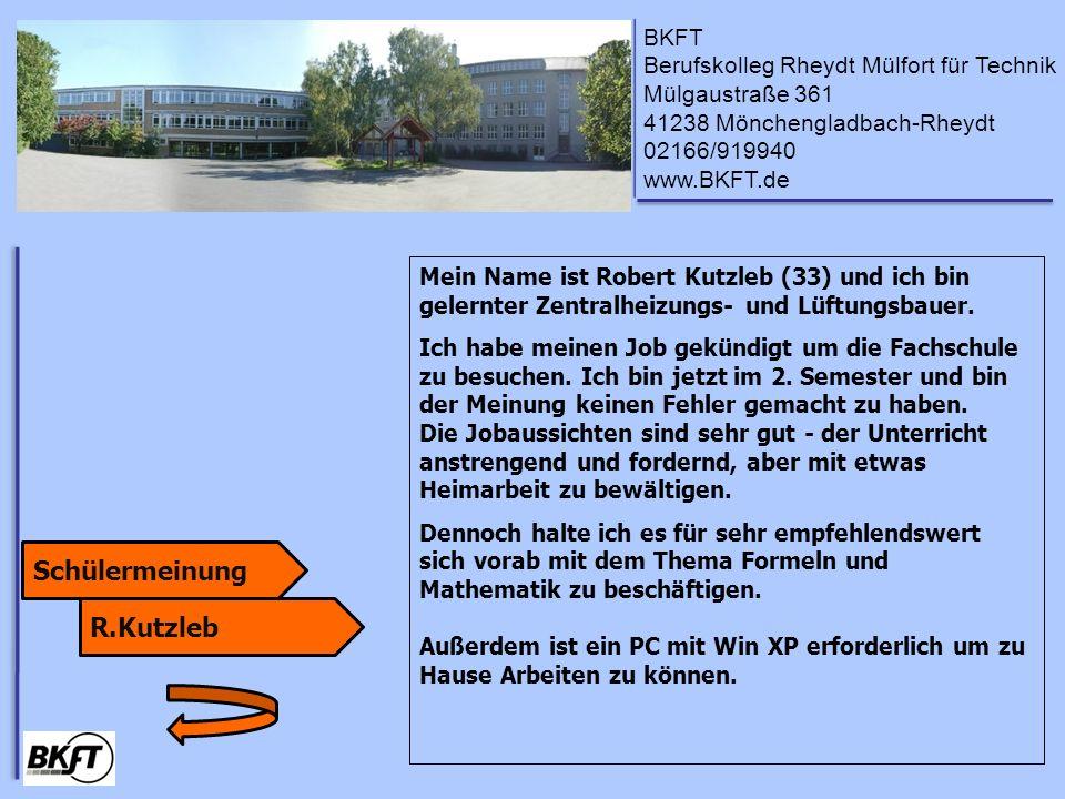 Schülermeinung R.Kutzleb