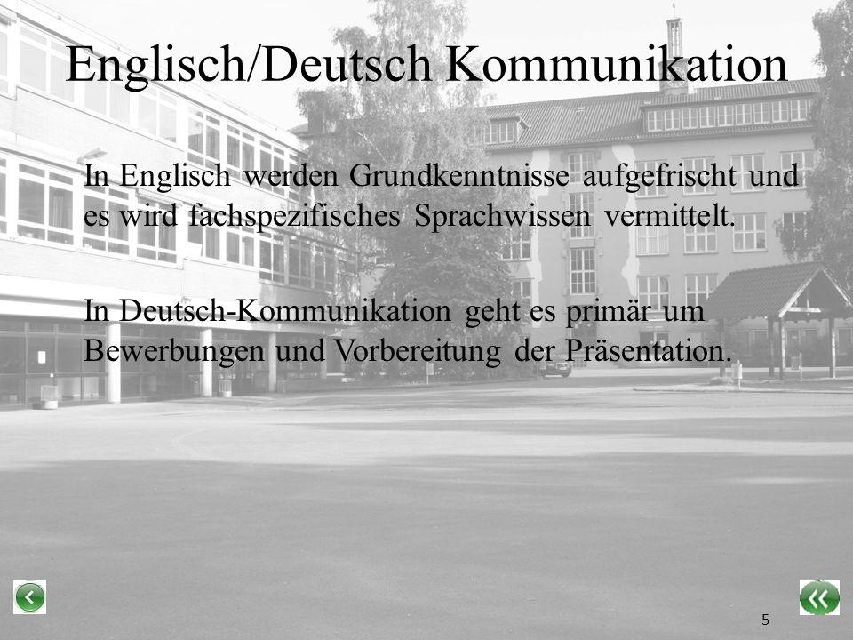 Englisch/Deutsch Kommunikation