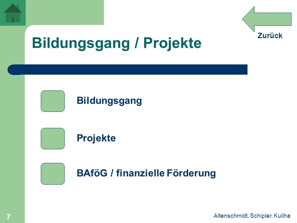 Bildungsgang / Projekte