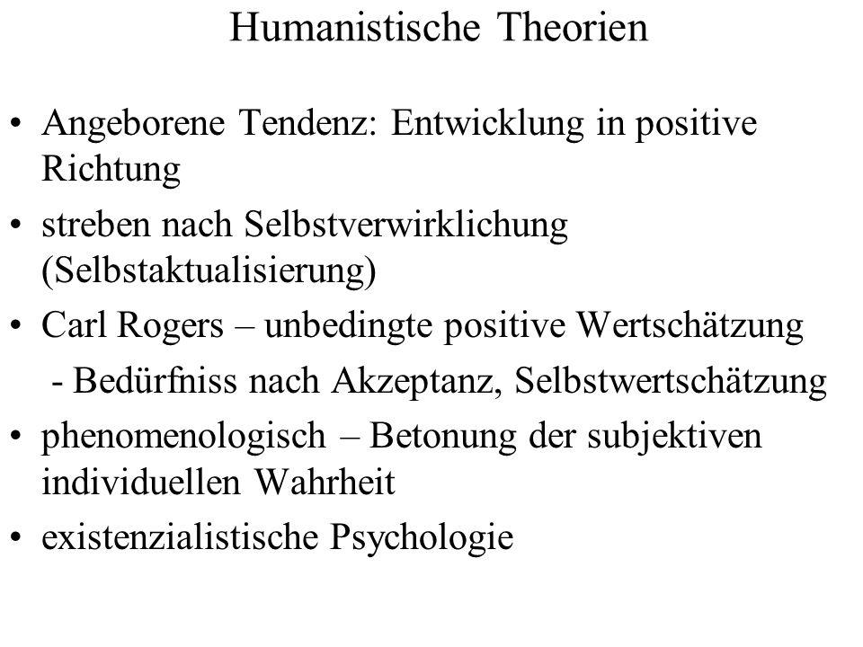 Humanistische Theorien