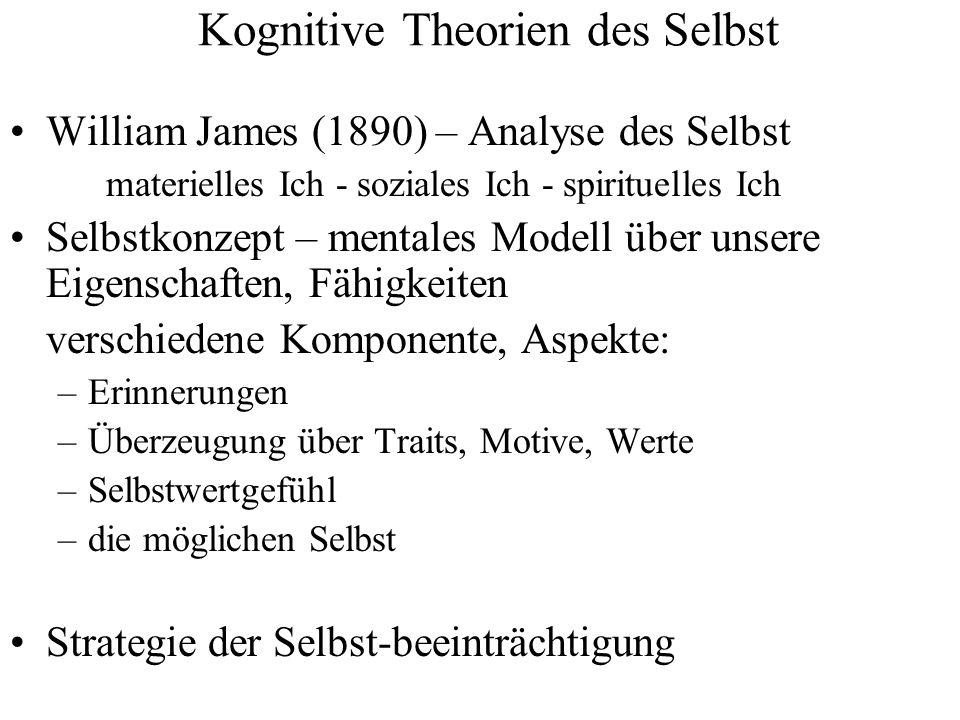Kognitive Theorien des Selbst