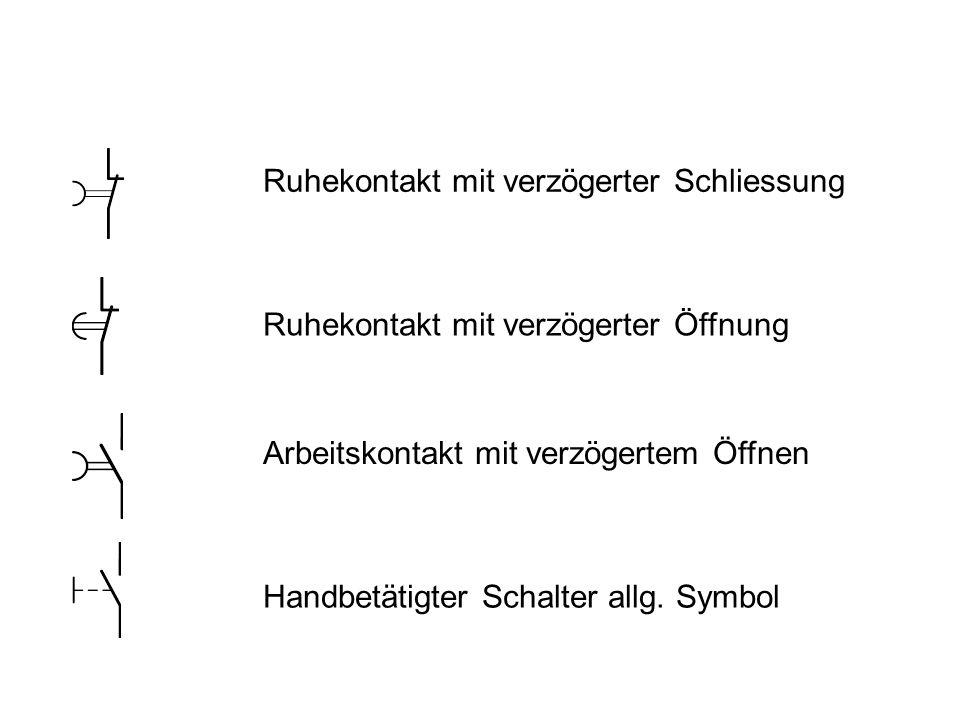 Ausgezeichnet Symbole Für Schalter Bilder - Elektrische ...
