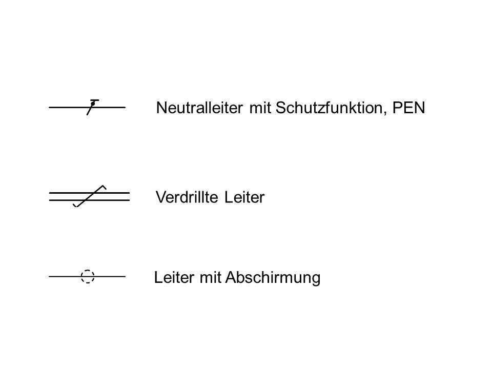 Neutralleiter mit Schutzfunktion, PEN