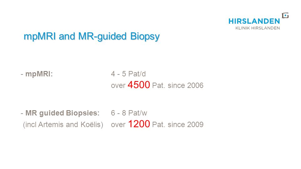 mpMRI and MR-guided Biopsy
