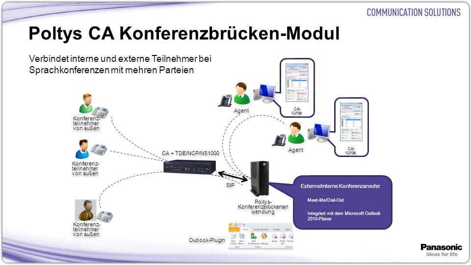 Poltys CA Konferenzbrücken-Modul