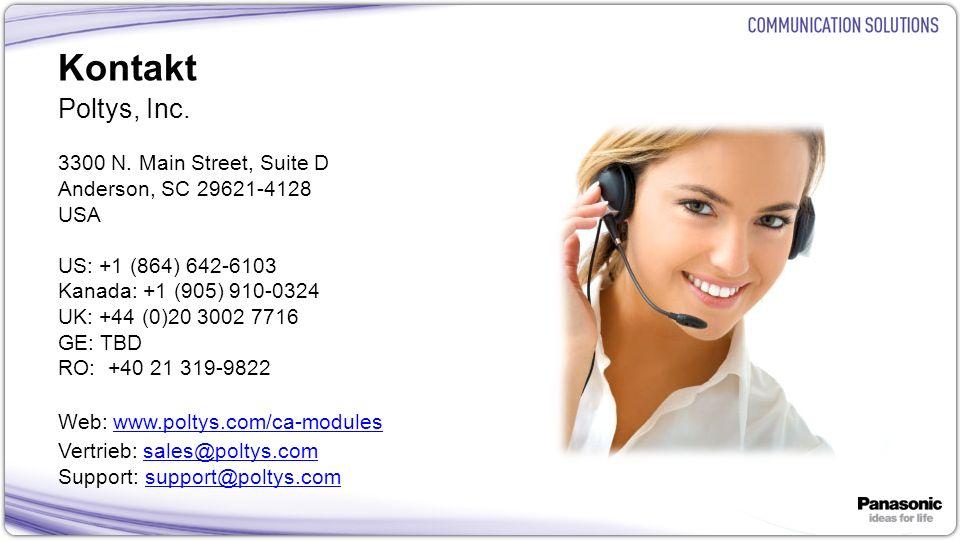 Kontakt Poltys, Inc. 3300 N. Main Street, Suite D