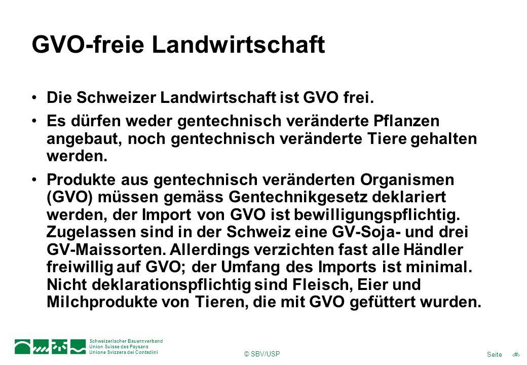GVO-freie Landwirtschaft