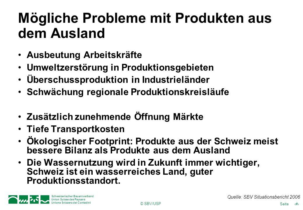 Mögliche Probleme mit Produkten aus dem Ausland