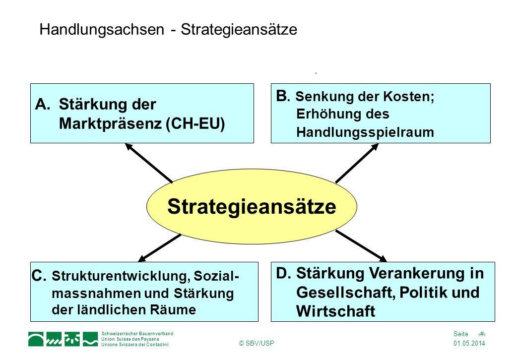 Handlungsachsen - Strategieansätze