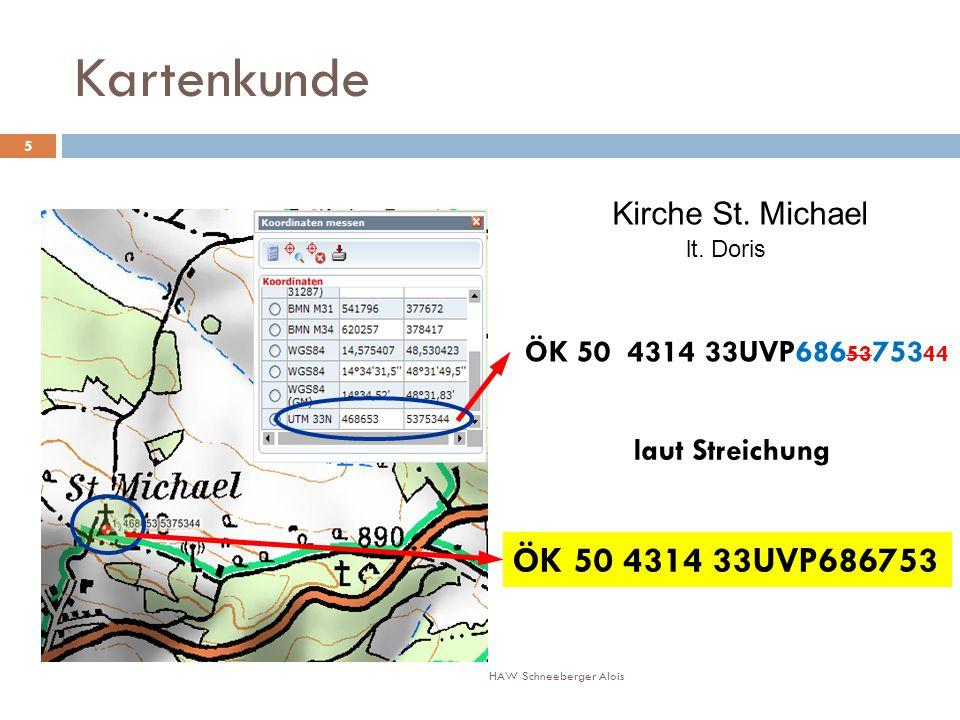 Kartenkunde ÖK 50 4314 33UVP686753 Kirche St. Michael