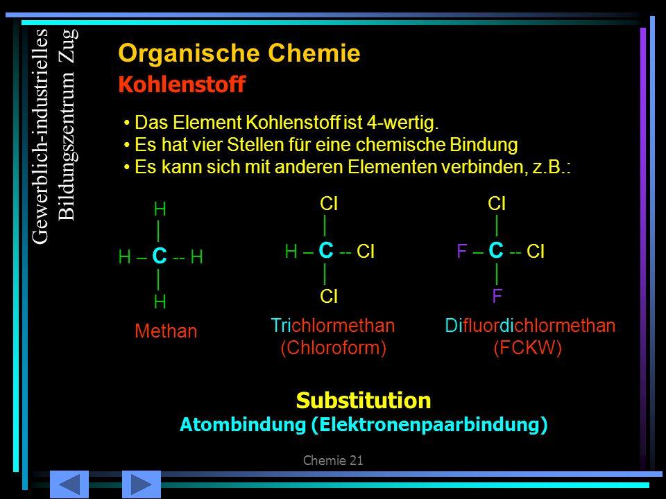 Atombindung (Elektronenpaarbindung)