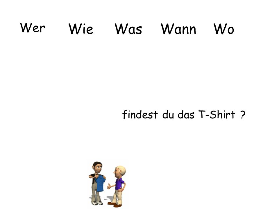 Wer Wie Was Wann Wo findest du das T-Shirt
