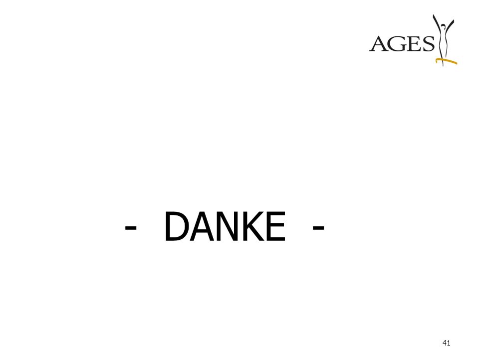 - DANKE -