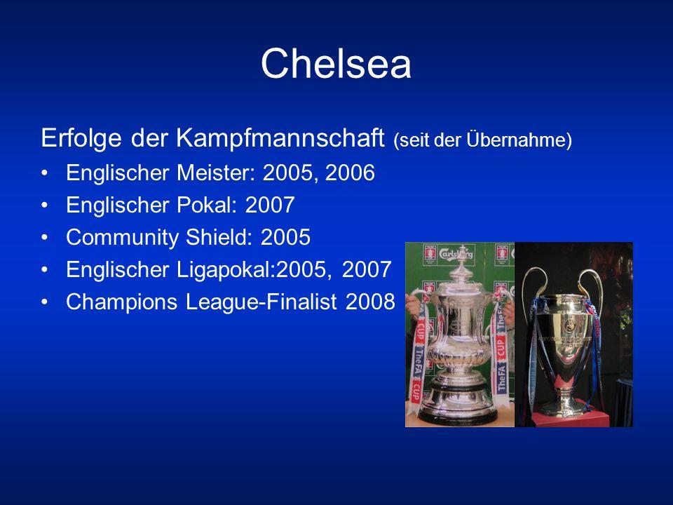 Chelsea Erfolge der Kampfmannschaft (seit der Übernahme)